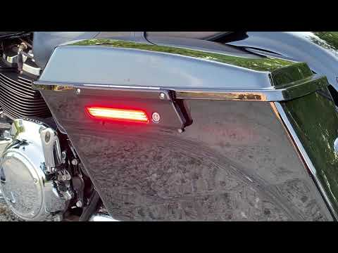 Saddlebag LED Latch Lightz for Harley Davidson Motorcycles