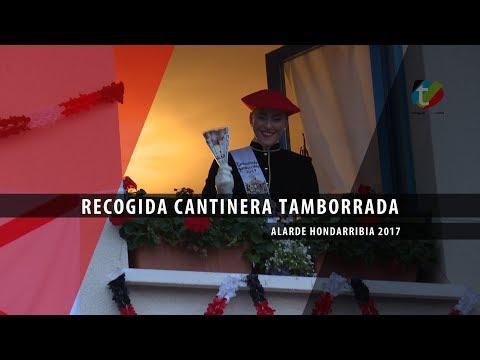 Recogida cantinera de tamborrada 2017 Alarde Hondarribia   Txingudi Online