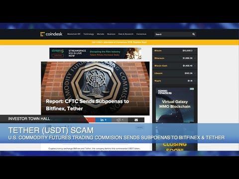 Bitfinex Tether (USDT) CFTC Subpoena,  CoinCheck Hack,  AriseBank Fraud, Facebook Crypto Ban
