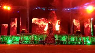 Fire show in Saudi Arabia / National Day 2018