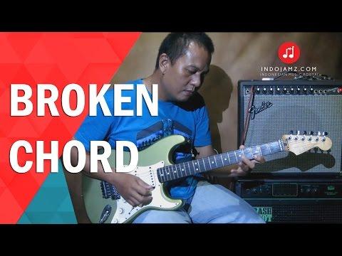Tutorial gitar - memahami bentuk broken chord