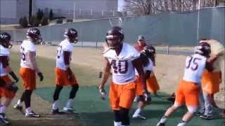Virginia Tech opens 2014 spring football practice