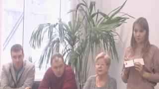 Вручение удостоверений машинистам крана по программе обучения Центра занятости