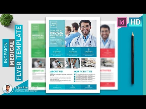 How to Create a Medical Flyer Template in Indesign : Indesign Tutorial