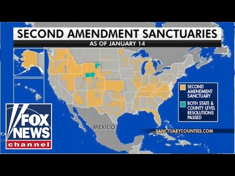 Several states consider becoming 'Second Amendment Sanctuaries'