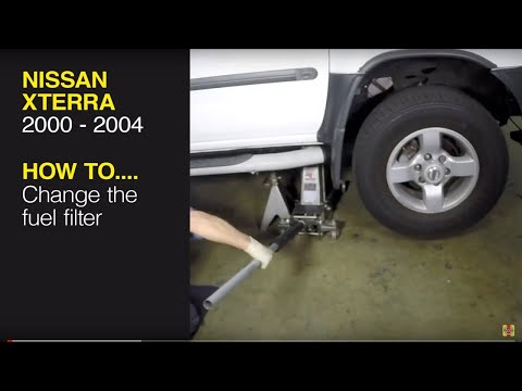 Replace the fuel filter on a Nissan Xterra (00-04), Pathfinder (96-04) or  Frontier pick-up (98-04) - YouTubeYouTube