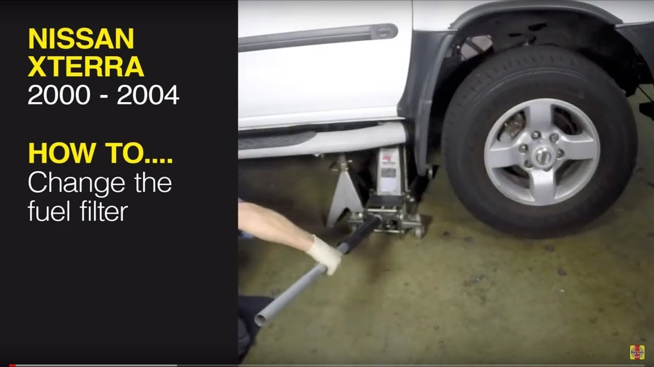 [DIAGRAM_1CA]  Replace the fuel filter on a Nissan Xterra (00-04), Pathfinder (96-04) or  Frontier pick-up (98-04) - YouTube | 2007 Nissan Xterra Fuel Filter |  | YouTube