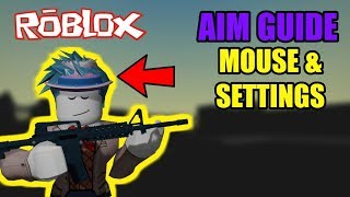 Roblox How to Aim (Pt. 1) Mouse & Optimization Tips