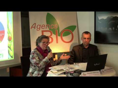 Conférence de Presse Agence Bio février 2015 : la Bio poursuit son développement