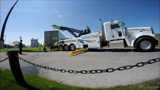 Midwest Truck Rotator Job Trailer lift near Burger King 5 13 2016