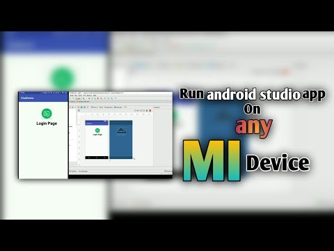 Run Android Studio App On Any MI Phone