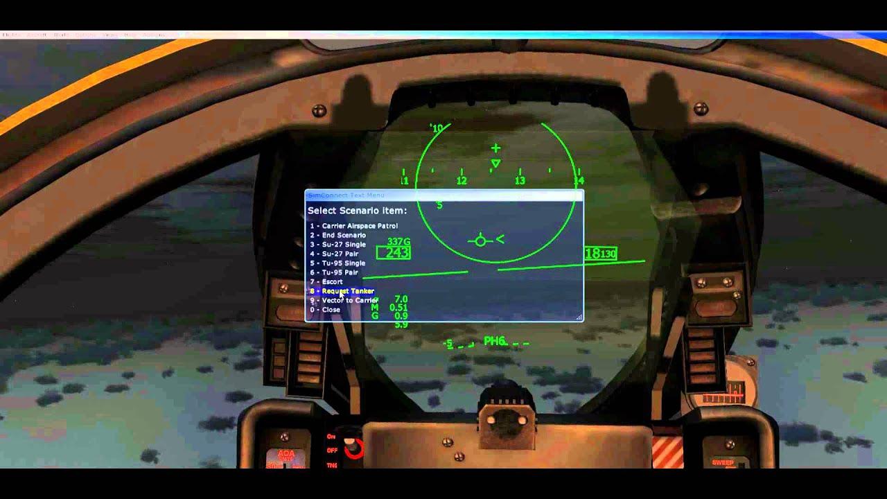 Aerosoft F14X AIM-54 Quick Fire Tutorial