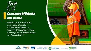 Seminário debate serviços de resíduos sólidos com gestores de Pernambuco