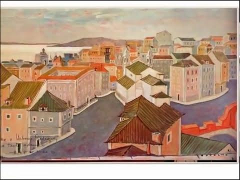 """Pintor Carlos Botelho - 1982 -"""" Continuarei aprender até à última tela da minha vida""""…"""