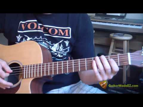 Neil Diamond Cherry Cherry Guitar Lesson (Guitar Chords, Strumming Pattern, Chord Progression)