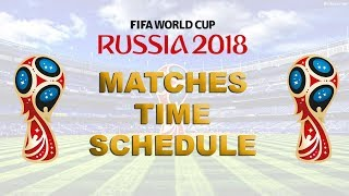 Football Russia FIFA World Cup 2018 (Indian) Schedule/Timing 'IST' Live-Telecast Channel List