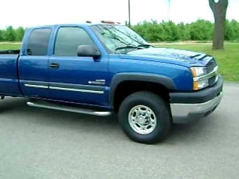 For Sale 2003 Chevy 2500 Duramax Youtube