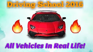 Driving School 2016 - All  Vehicles In Real Life (On Subscriber's Request) screenshot 4