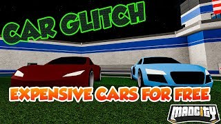 How To Glitch Any Car Vehicles For Free! (Roblox Mad City)