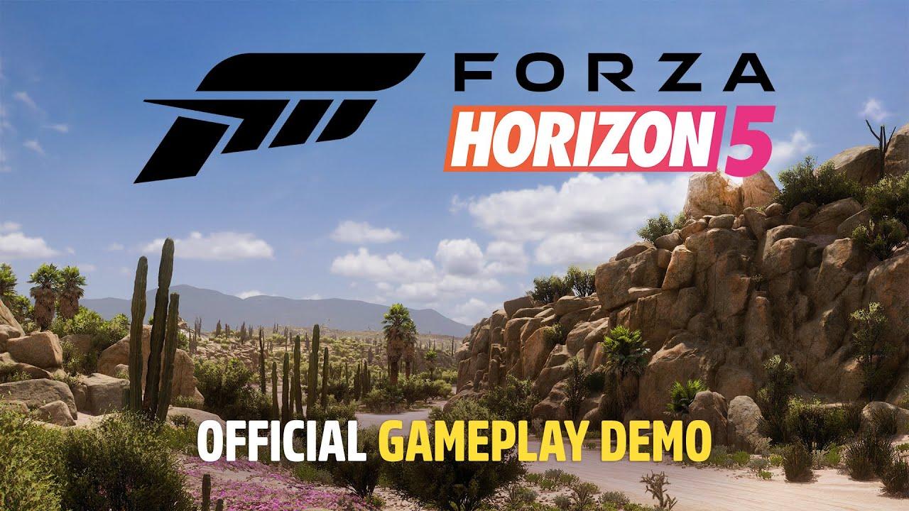 Forza Horizon 5 Official Gameplay Demo - Xbox & Bethesda Games Showcase 2021 - Forza