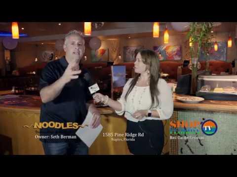 Noodles Cafe interview for Shop Florida TV