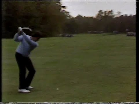 Seve Ballesteros v Scott Simpson. World Matchplay. 1987.