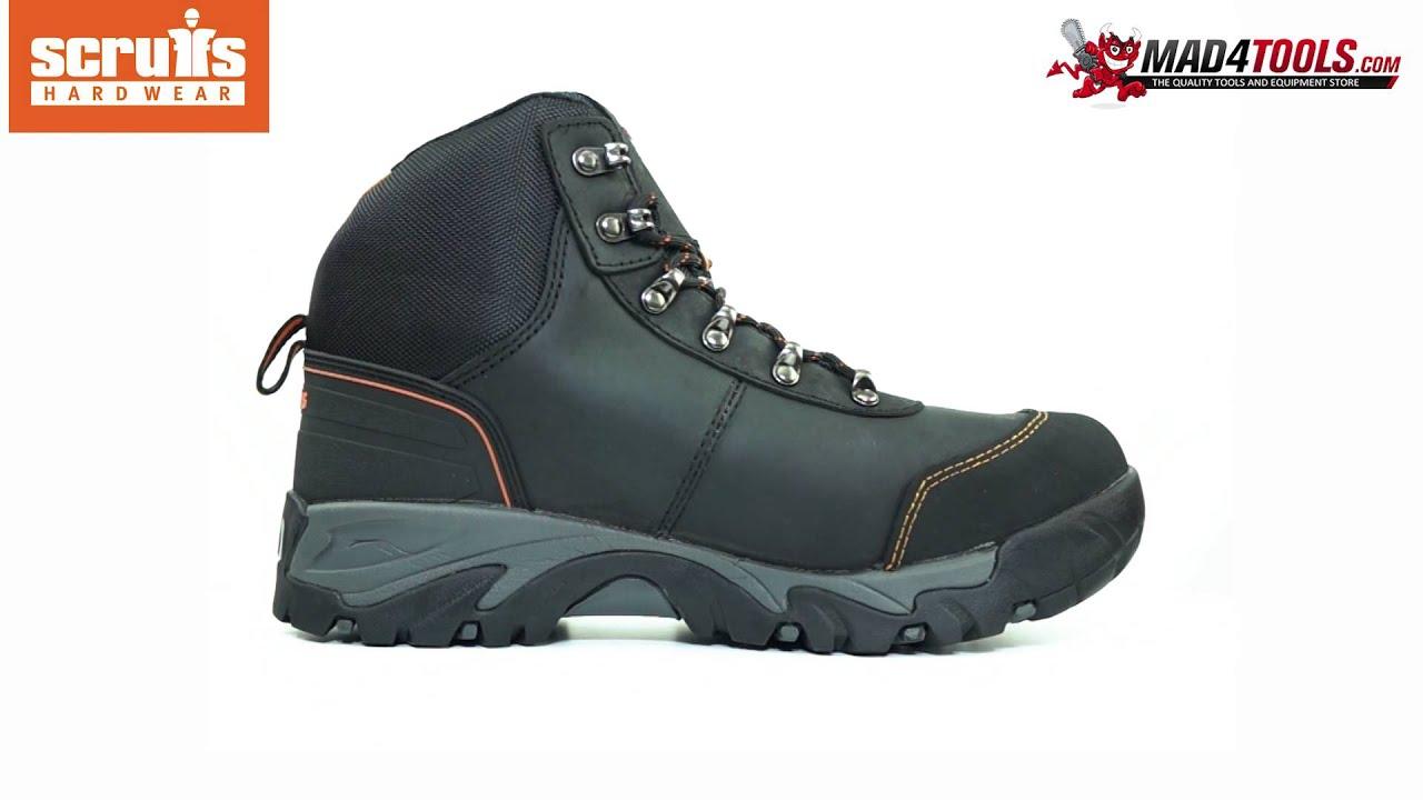 sale usa online quality design 100% authentic Scruffs ASSAULT SBP SRC Rated Safety Hiker - Black (Sizes 7-12)
