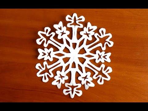 как сделать снежинку из бумаги своими руками схемы снежинок