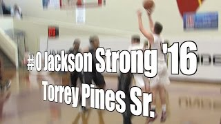 Jackson Strong '16, Torrey Pines Senior at 2015 UA Holiday Classic