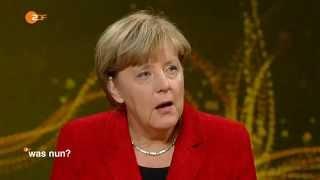Was nun Frau Merkel