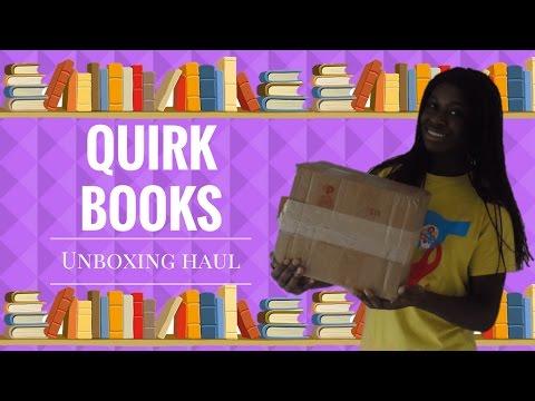 QUIRK BOOKS || Unboxing & Haul