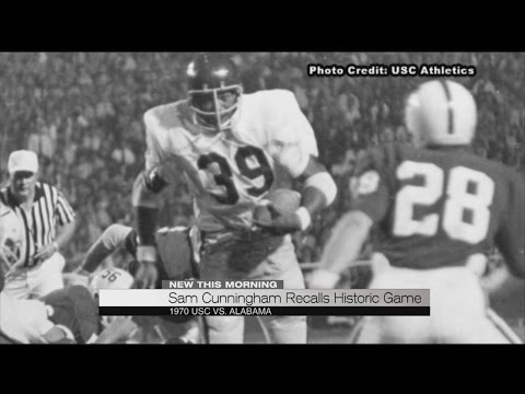 Sam Cunningham recalls historic game