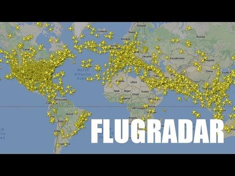 FLYRADAR - Flugradar 24 - Flug Tracker Online