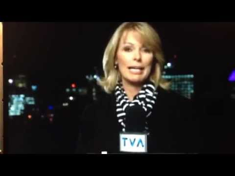 UFO Live on TV News Montreal October 2 2014 Colette Provencher TVA