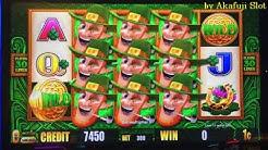 Live Play on Free Play★Wild Lepre'Coins Slot Machine Bet $3 at Harrah's Casino Akafujislot