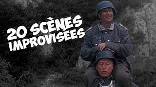 TOP 20 des scènes improvisées par Louis de Funès
