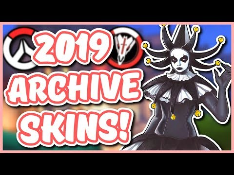 Overwatch - 2019 ARCHIVE EVENT SKIN IDEAS (Deadlock McCree, Talon Baptiste, AND MORE) thumbnail