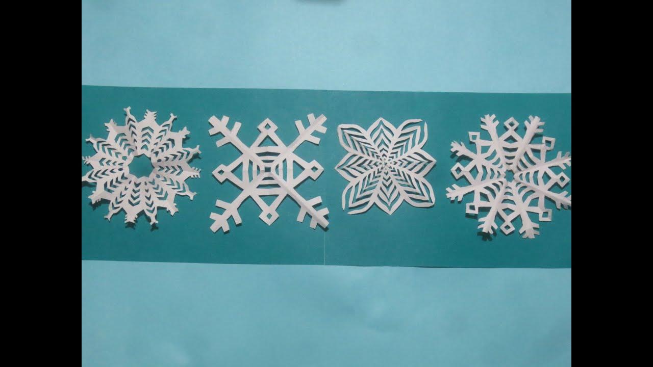Como hacer copos de nieve de papel facil navidad youtube - Copos de nieve manualidades ...