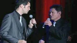 David Osmond & Donny Osmond sing at The Dinner Of Champions