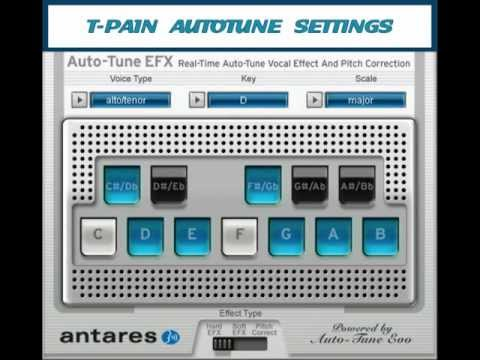 How To: T-Pain Autotune Settings