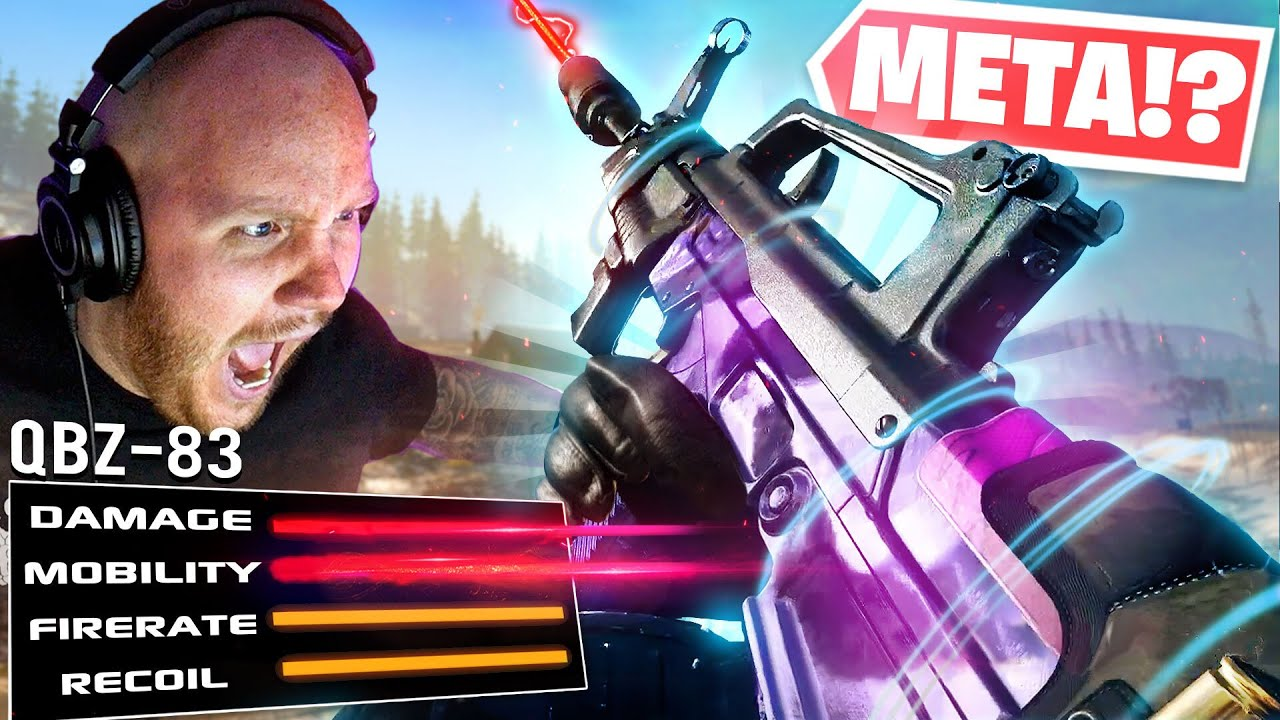 THE QBZ-83 IS GOING TO BE META IN WARZONE!! Ft. Swagg & CouRageJD
