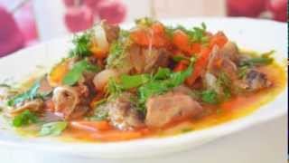 Домашние видео рецепты - гуляш  из свинины в мультиварке