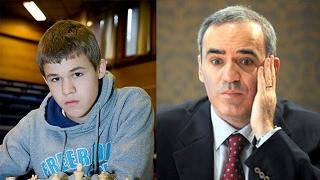 Карлсен против Каспарова: встреча двух шахматных легенд в Рейкьявике!
