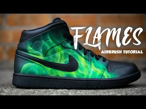 HOW TO AIRBRUSH FLAMES | 2 MINUTE TUESDAY