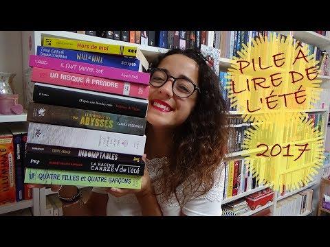 Ma Pile à Lire été 2017 ! ☼