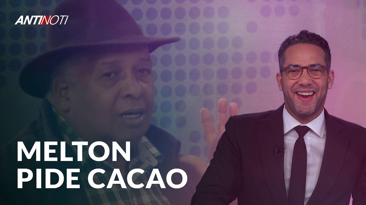 Melton Pineda Le Pide Cacao A Guido Gómez | Antinoti