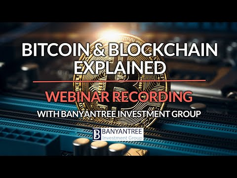 Blockchain and Bitcoin explained with Funds Manager and Cyberscurity Expert