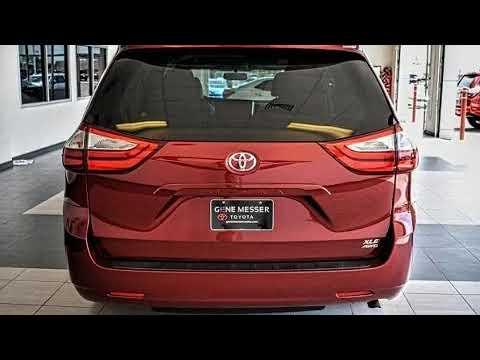 2015 Toyota Sienna XLE In Lubbock, TX 79407. Gene Messer Toyota