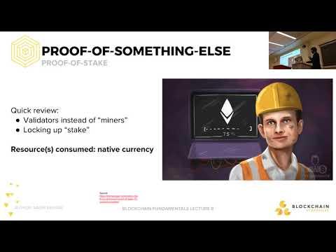 [Lecture 8] Alternative Consensus Mechanisms