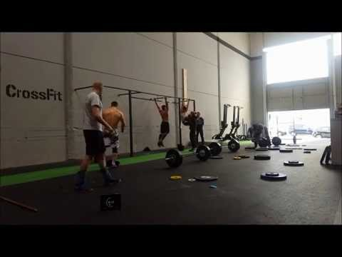 David Crespo Tammelin- Crossfit Open 16.2 [342 reps]